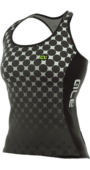 Alé Cycling Solid Bolas Tanktop Women black-white